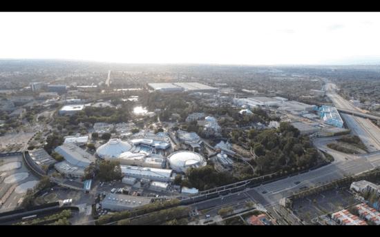 Disneyland from above
