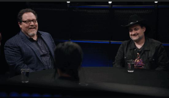 Jon Favreau (left); Dave Filoni (Right)