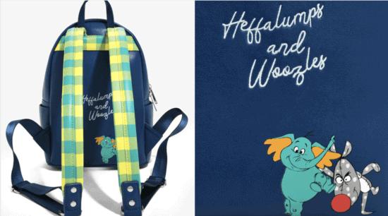 pooh backpack back