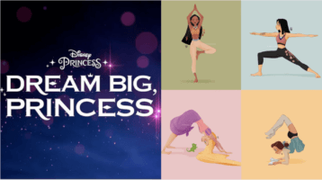 princess yoga header