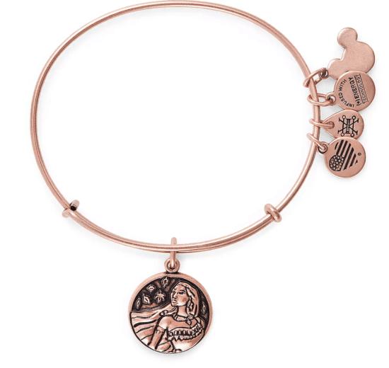 Pocahontas charm and bracelet