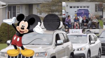 cancer victim disney parade header