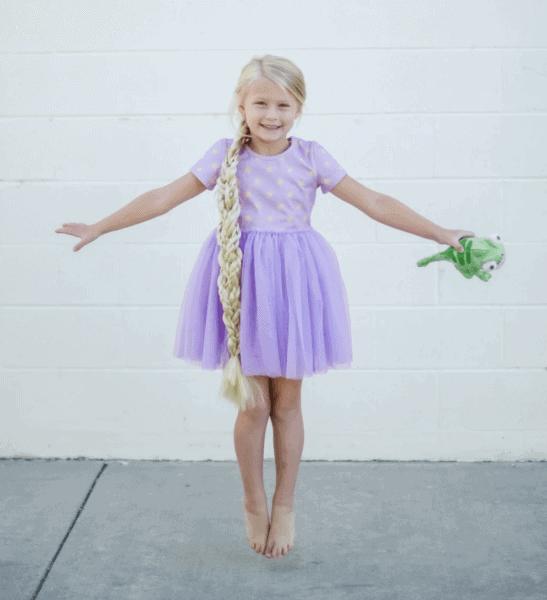The Purple Sun Dress
