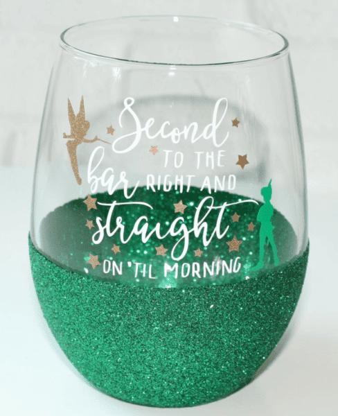 Disney wine glasses