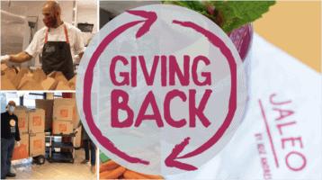 jaleo donating meals