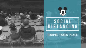 social distancing in Shanghai banner