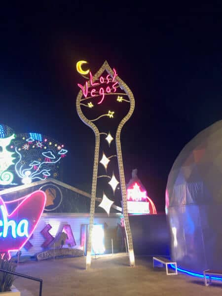 Virtually Visit Lost Vegas logo