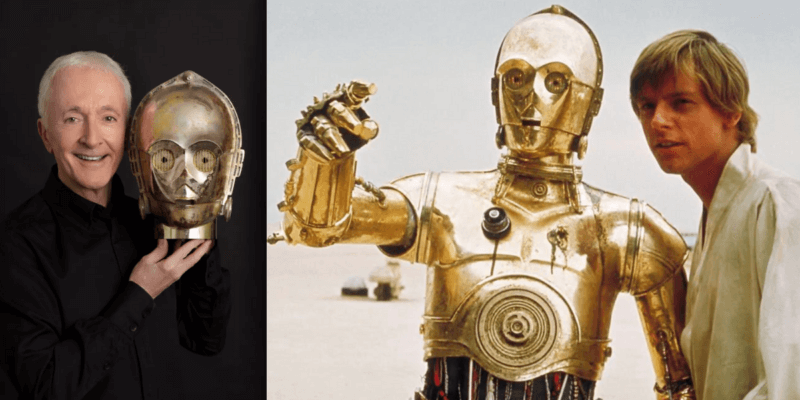 Star Wars Anthony Daniels almost wasn't C-3PO
