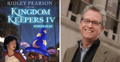Ridley Pearson updated Kingdom Keepers series
