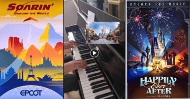 Piano Disney Park Music Medley