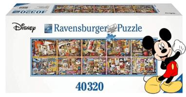 40000-Piece Ravensburger Disney Puzzle