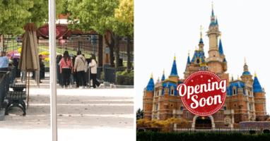 Shanghai Disney Resort simulates Reopening