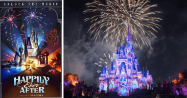 Disney Live Stream Happily Ever After Fireworks