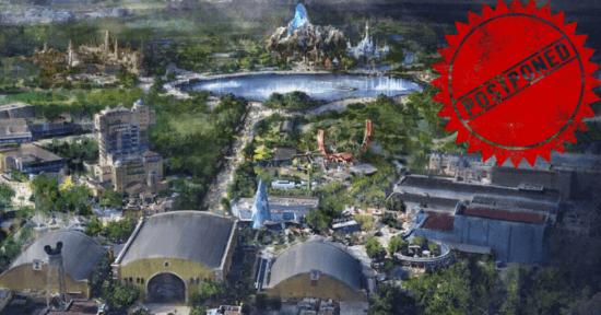 Disneyland Paris Construction