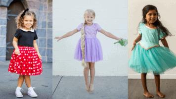 Disney Inspired Character Dresses