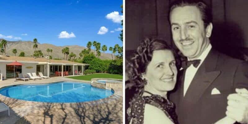 Walt's retirement home