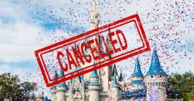 Disney World Closure
