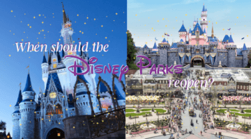 when should the disney parks reopen