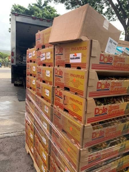 aulani food donation