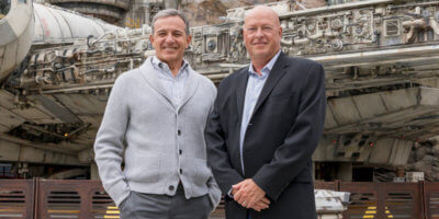Bob Chapek and Bob Iger