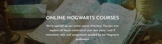 Attend Hogwarts Online courses