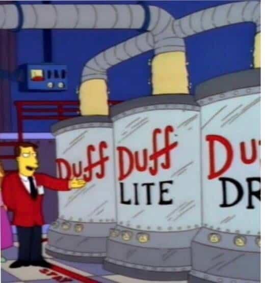 Duff gag original