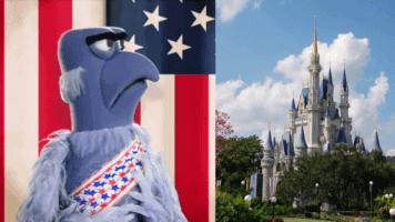 Sam Eagle and Cinderella Castle