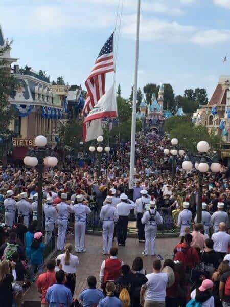 dlr flag ceremony