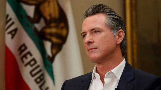 Gov. Gavin Newsom california considering quarantine