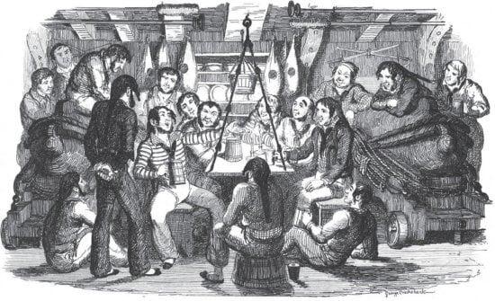 Sailors Enjoying Their Grog