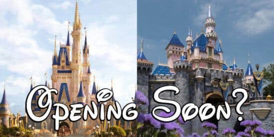 Disneyland Disney World Reopening