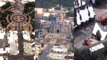 Empty Walt Disney World Universal