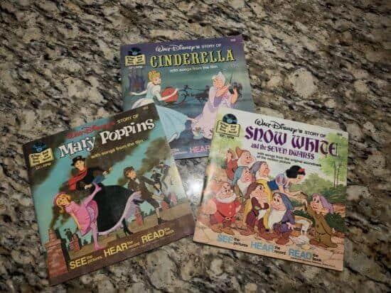 Snow White, Mary Poppins Cinderella Tray