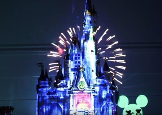 Disney Fireworks at Home LEGO1