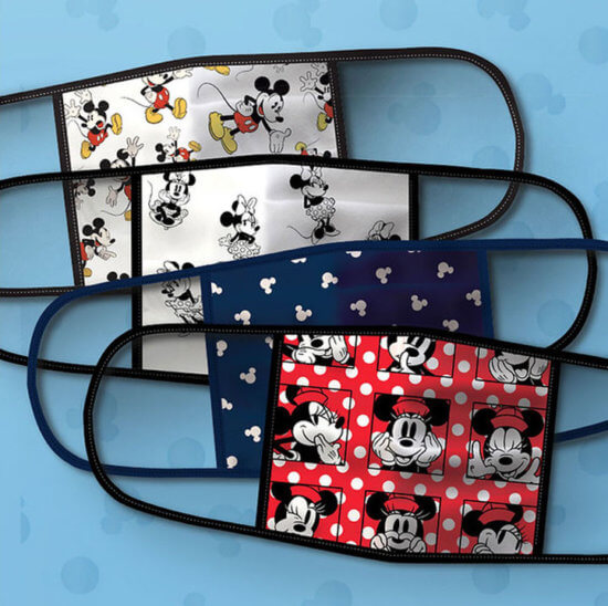 minnie mouse face masks on shopdisney