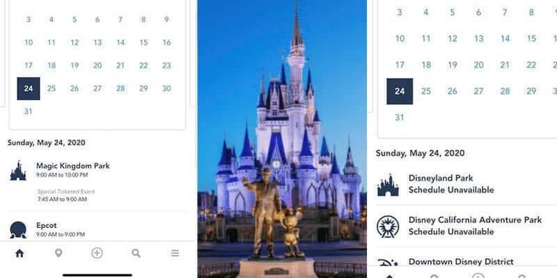 Magic Kingdom Theme Park Hours