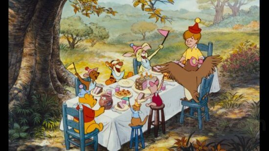 winnie the pooh birthday celebration