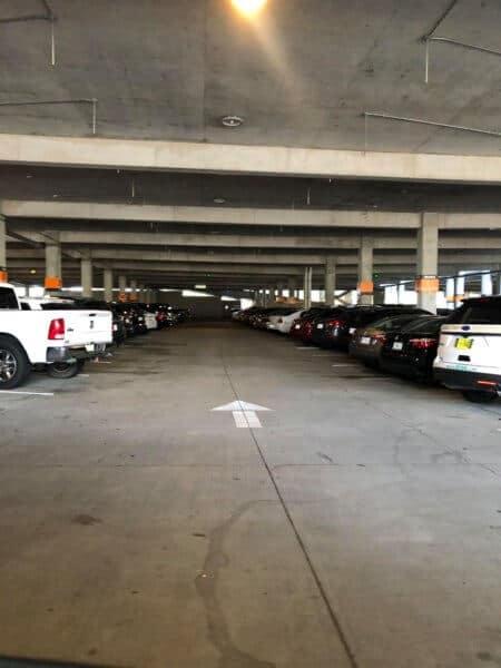 disney springs parking