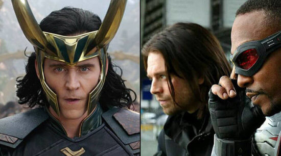Loki and The Falcon and Winter Solider