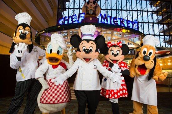 Fab 5 at Chef Mickey