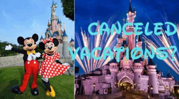 disneyland paris cancelled vacation information
