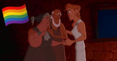 Hercules remake gay couple