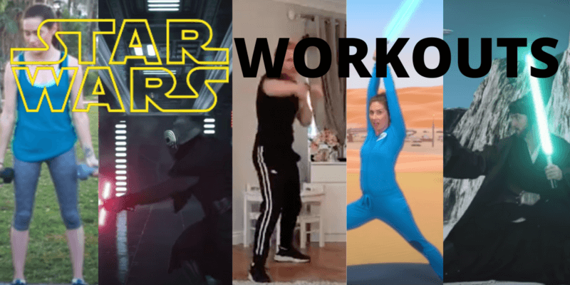 STAR WARS themed workout