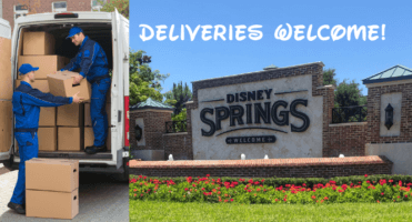 Disney Springs Deliveries Welcome