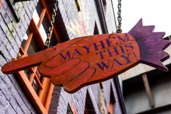 Mayhem this way