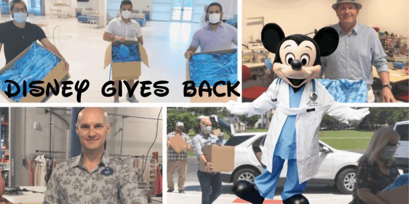 disney world donates fabric