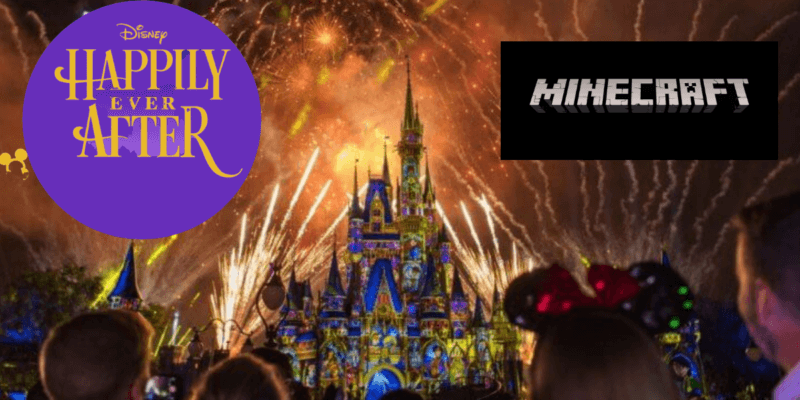 Disney's Happily Ever After in Minecraft