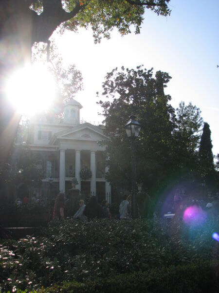 Haunted Mansion and Tower of Terror DL Mansion