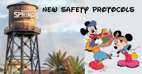 Disney Springs New Safety Protocols