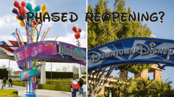 downtown disney phased reopening